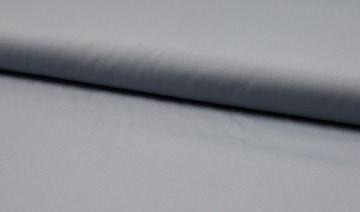 Baumwolle Popeline Uni sielber grau
