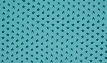 Jersey Sterne aqua/petrol