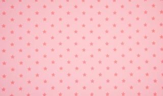 Bündchen Sterne rosa