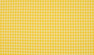 Baumwolle Popeline Karo gelb