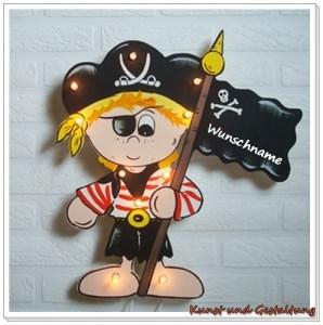 ♡   Schlummerlicht   Pirat  ♡