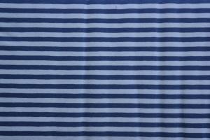 Jersey  Ringel hellblau-blau gestreift