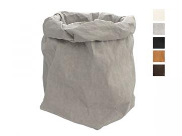 Schicker Papierkorb aus veganem Leder in verschiedenen Farben lieferbar