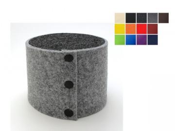 Moderner Klopapierhut / Toilettenpapierhut aus Filz für eine Rolle Toilettenpapier, in vielen Farben lieferbar