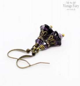 ღ Ohrringe Lavendelfee ღ süße Ohrringe in Blütenform ღ