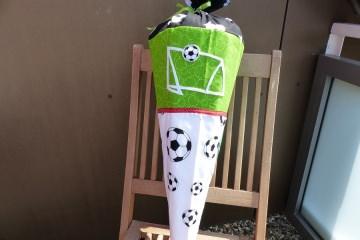 Schultüte ☆ Fußball ink. Kissen ☆ Zuckertüte