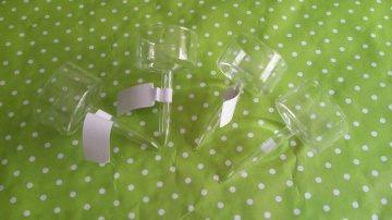 ♡♡ 12er Set Teelichthalter aus Glas ♡♡