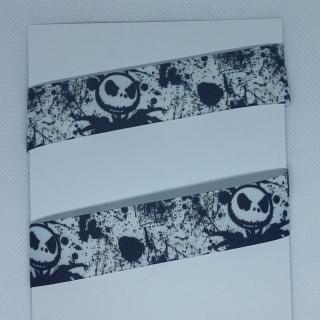 4,50€/m - Ripsband °Jack Skull ♡♡ 30 mm °° Kleckse