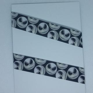4,50€/m -  Ripsband °Jack Skull ♡♡ 25 mm