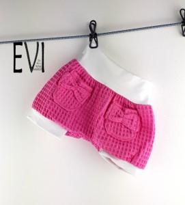 kurze Pumphose 56/62-116, Shorts, Babyhose, Kinderhose, Haremshose