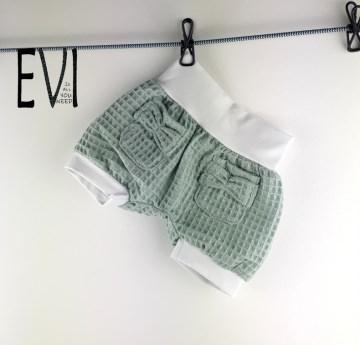 kurze Pumphose 110 116, Shorts, Babyhose, Kinderhose, Haremshose