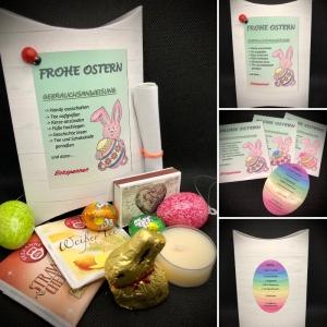 Ostergeschenk, Osterfreude verschenken - Osterbox fertig befüllt