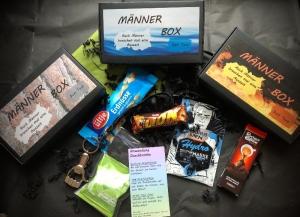 Männerbox, Männergeschenk, Geburtstagsgeschenk - Box gefüllt mit tollen Sachen - Handarbeit kaufen