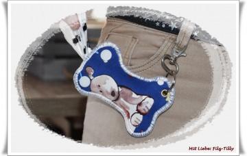 Hundekotbeuteltasche aus Filz