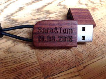 USB Stick Holz 16GB - Iotoba - handgearbeitet