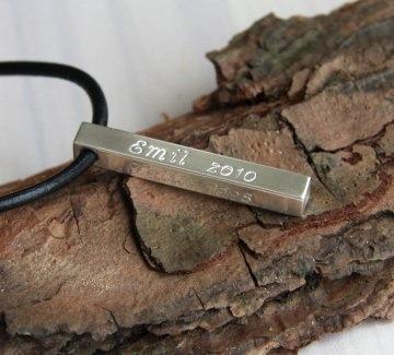 925er Silberkette - Namenskette - Family Bar