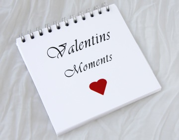 Valentins Moments - Gutscheinblock