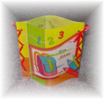 handgemachtes Windlicht Tischlicht zur Einschulung, 1. Schultag, Schulanfang,Tischdeko mit Namen und Datum