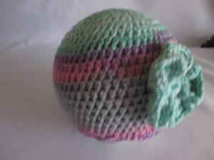 ★ - ☆ Babymütze Mikrofaser selfmade für KU von ca.  44 - 46  cm  ★ - ☆