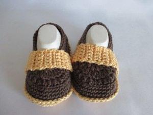 ★ - ☆ -  Babyschuhe Babyslipper Baumwolle Fuss ca. 12 cm ★ - ☆ -