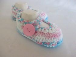 ♥ - ♡ - Babyschuhe Ballerinas Fuss ca. 10,5 cm Gr. 16/17 ♥ - ♡ -