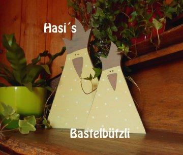 Sofort verfügbar!  ♡ 2 HÜHNER ♡ aus Holz, antikgelb, Holzhühner - Handarbeit kaufen