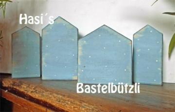 Sofort verfügbar! ♡ HÄUSER AUS HOLZ ♡ im Shabby-Chic, Holzhäuser - Handarbeit kaufen