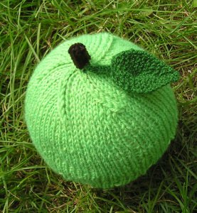 grüner Apfel Mütze ❀ Apfelmütze ❀