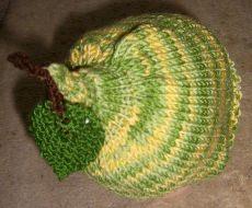Birnenmütze Baby Übergangsmütze BIRNE 42-45cm
