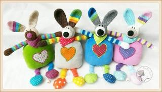 ☆ Tierisch-bunte Spieluhren von Klunkerstern
