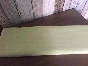 Tante Ema BaumwollDruck Spitzenquartett grün 0,50 Meter