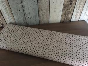 Tante Ema BaumwollDruck Blütenboogie beige 0,50 Meter