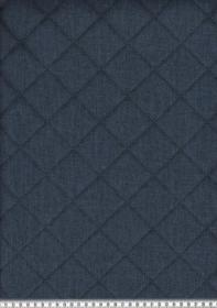 Taschen Stepp Dekostoff Moskau dunkelblau