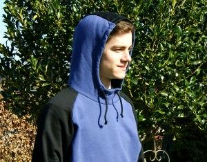 Männer-Hoodie RYAN  Sweatshirt  Gr.L