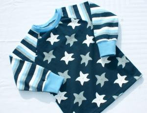 Langarmshirt SEESTERNE für Babys Gr. 92