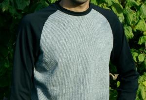 Männer Pullover KNIT KNIT Bio-Baumwoll-Jacquard Gr.M
