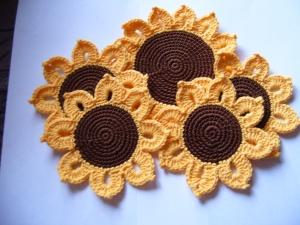 Untersetzer Sonnenblumen