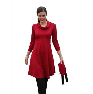 Tunika-Mini-Kleid Medi-C-Rolli mit 3/4 Ärmeln LG95 - Handarbeit kaufen