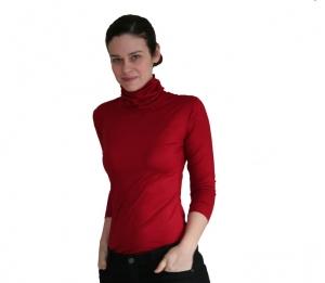Rolli aus BioBaumwolle oder Viskosejersey 3/4 Arm von VARIO-SHIRTS  - Handarbeit kaufen