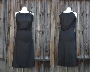 Kleid der vielen Möglichkeiten mit Tunnelzug Sommerkleid aus Viskosejersey LG 105 - Handarbeit kaufen