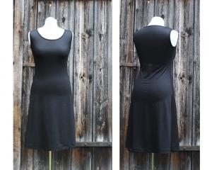 Medi-C-Basic-Kleid gerade ärmellos LG95 aus Viskosejersey   Jerseykleid - Handarbeit kaufen