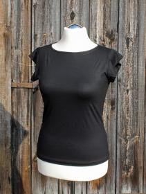 U-Boot-Shirt mit Miniärmeln aus Viskosejersey oder BioBaumwolle  - Handarbeit kaufen