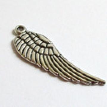 Anhänger Flügel silberfarben