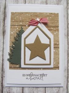 Weihnachstkarte / Geldkarte - Handarbeit kaufen