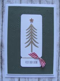 Weihnachtskarte - Handarbeit kaufen
