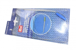 Maschenstop und Strick Stärke 3,0 - Rundstricknadel - Strickbedarf  Material Strickzubehör Rundstricknadeln
