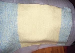 Kinderwagendecke handgestrickt  70 x 66 cm  gestrickt Kuscheldecke handgestrickt Babydecke Knit