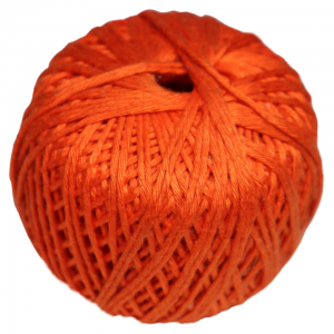 orange Mini-Knäuel 100 % Baumwolle  a LL 35 m , a 10 g , Amigurumi , NS 2 - 2,5