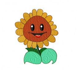 Sonnenblume zum besticken von Handtüchern und T-shirts