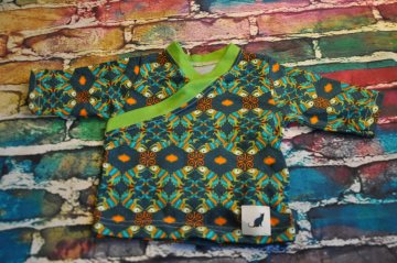 Chamäleon Pullover / Longshirt mit tollem Ausschnitt